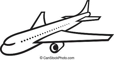 vektor, eben, (airliner)