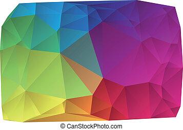 vektor, farverig, baggrund