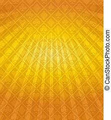 vektor, feuerhaken, orange hintergrund