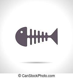 vektor, fishbone