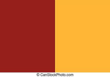 vektor, flagga, italy., rom, format