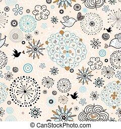 vektor flowers overlay