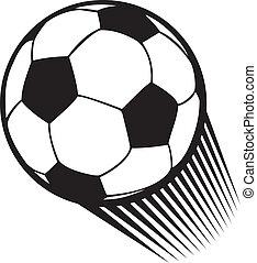 vektor, foci labda, (soccer)