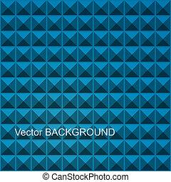 vektor, fyrkant, abstrakt, röd, mosaik, seamless, bakgrund.