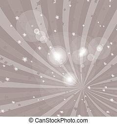 vektor, grunge, hintergrund, mit, lichtstrahl