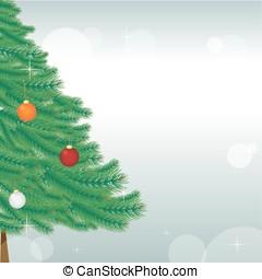 vektor, háttér, helyett, christmas holiday, tervezés