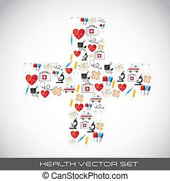 vektor, hälsa