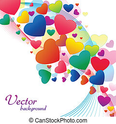 vektor, heraty, hintergrund
