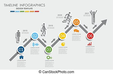 vektor, illustration., dein, infographic, design, schablone, ort, data.