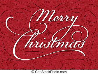 vektor, jul, bakgrund, utsirad