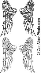 vektor, křídla