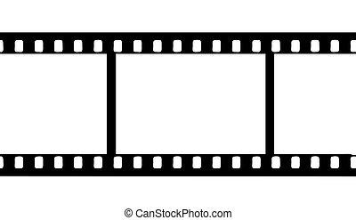 vektor, kamera film