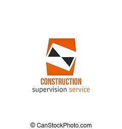 vektor, konstruktion, tjeneste, ikon