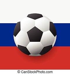 vektor, labdarúgás, világbajnokság, háttér, concept., orosz, nemzeti jelkép, helyett, szalagcímek, posters., vektor, labdarúgás, világbajnokság, háttér, concept., orosz, nemzeti jelkép, helyett, szalagcímek, posters.