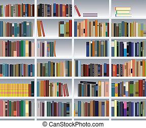 Bücherregale bücherregale illustrationen und clip 5 110 bücherregale