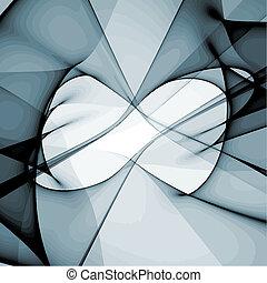 vektor, modern, kivonat tervezés