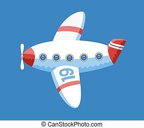 vektor, motorflugzeug, dodo, sammlung