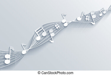 vektor, musik, hintergrund., eps10