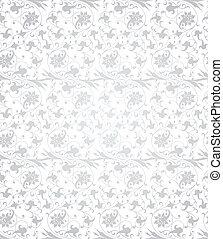 vektor, pattern., seamless, abbildung