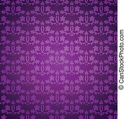 vektor, pattern., seamless, tapete