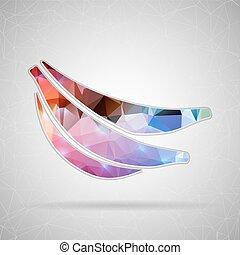 vektor, pralátka, jako, tvůj, design