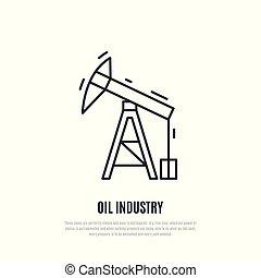 vektor, pump., olaj, ábra