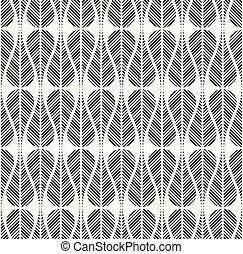 vektor, seamless, pattern., modern, stilvoll, dekorativ, hintergrund, mit, struktur, von, wiederholen, teardrops, mit, diagonal, gestreift, texture.