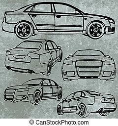 vektor, sportcar