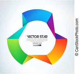 vektor, stern