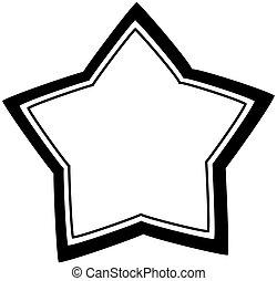 vektor, stjärna