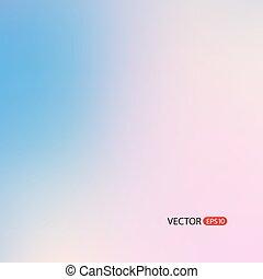 vektor, suddig fond
