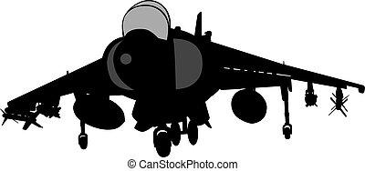 vektor, sugárhajtású repülőgép