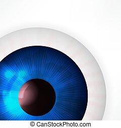 vektor, szem