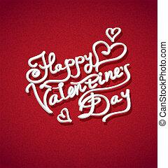 vektor, tag, hintergrund, valentines