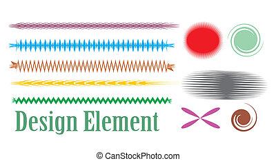 vektor, tervezés elem
