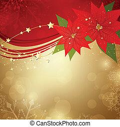 vektor, vánoce, grafické pozadí