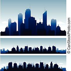 vektor, városok