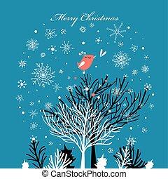 vektor winter  greetings