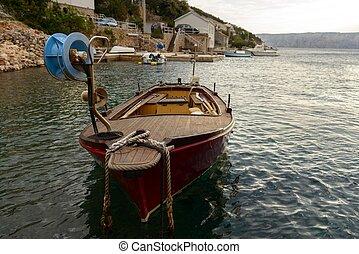 vela, barca naviga