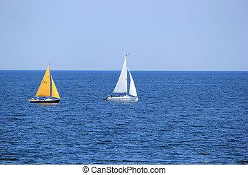 vela, barcos