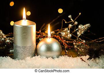 velas natal
