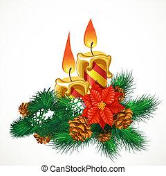 velas, natal