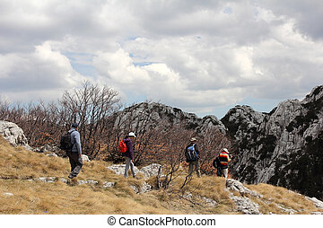 velebit, trekking