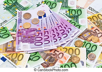 velen, euro banknotes