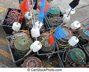 velen, fishnet, gereedschap