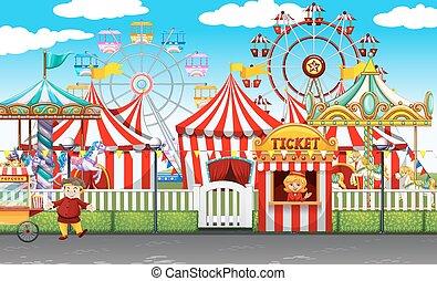 velen, winkels, ritten, carnaval