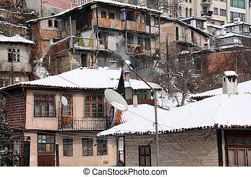 Veliko Tarnovo in the Winter