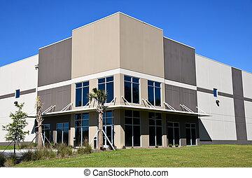 velký, čerstvý, commercial building
