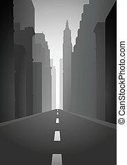 velkoměsto ulice