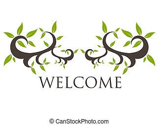 velkommen, motiv